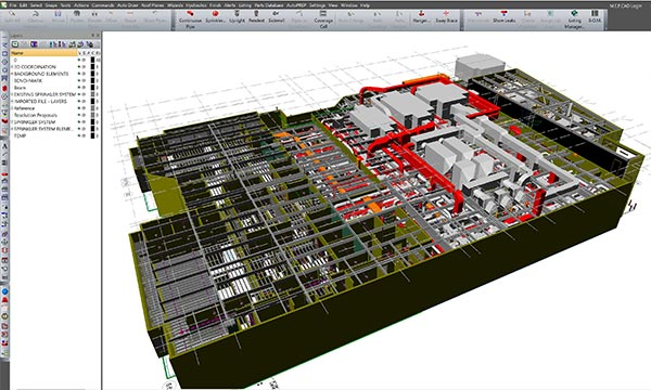 Autosprink Fire Sprinkler Design Software